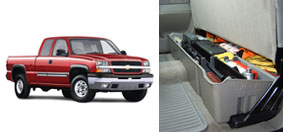 DU-HA UNDERSEAT STORAGE FOR CHEVY